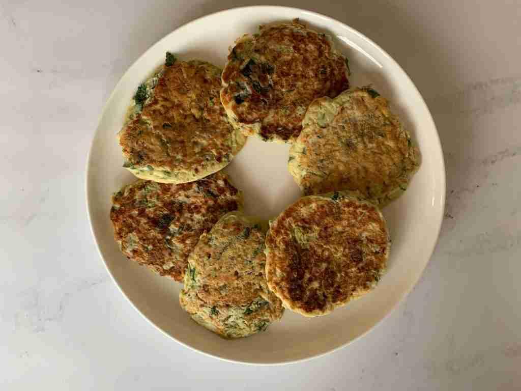 Kolokithokeftedes Zucchini Feta Fritters