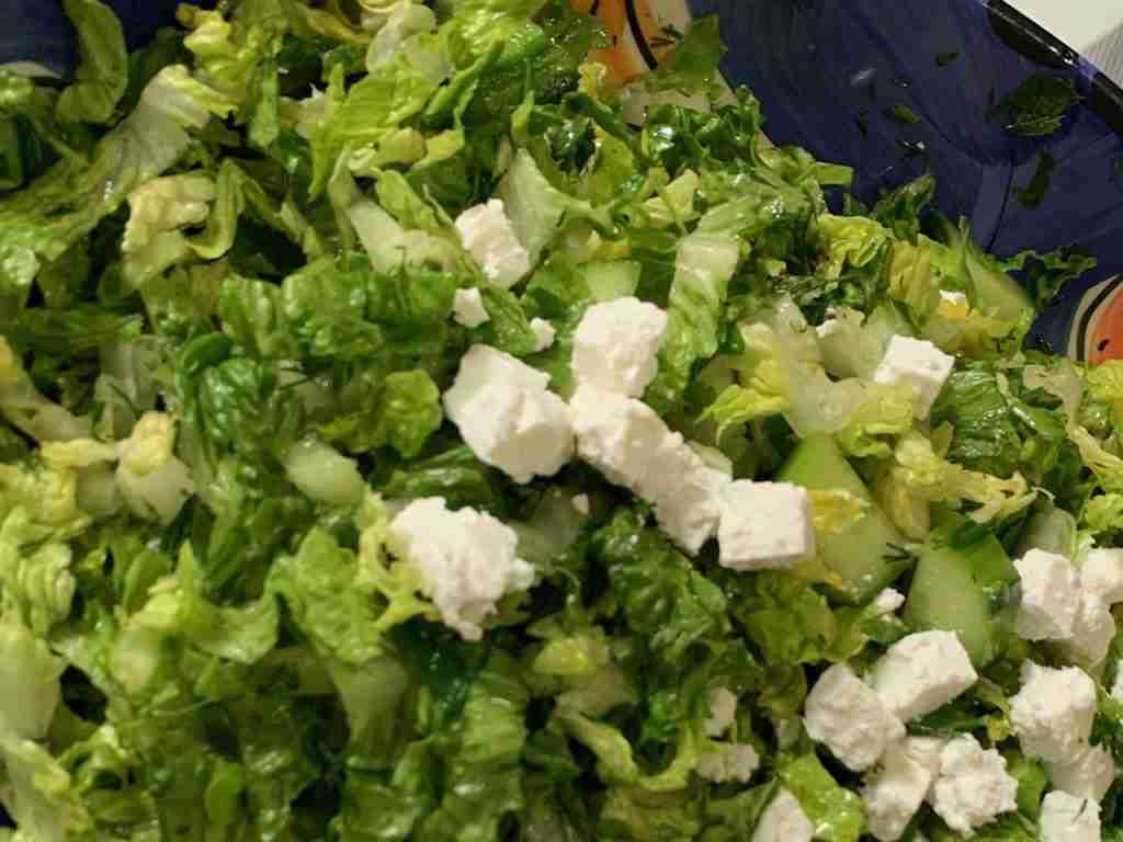 Maroulosalata - Greek Lettuce Salad