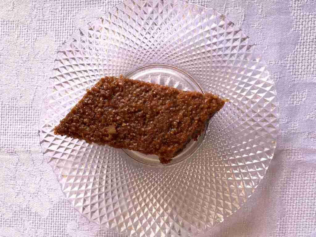 Karidopita Greek Walnut Cake