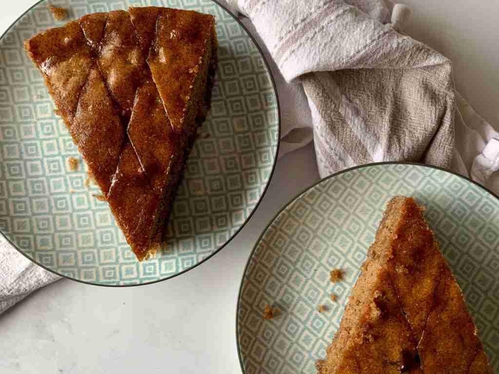 Greek walnut cake